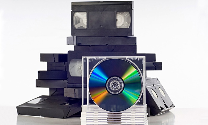 Memories On Media - East Forest: Conversion of Up to 5 or 10 Videotapes to DVD at Memories On Media (Up to 62% Off)