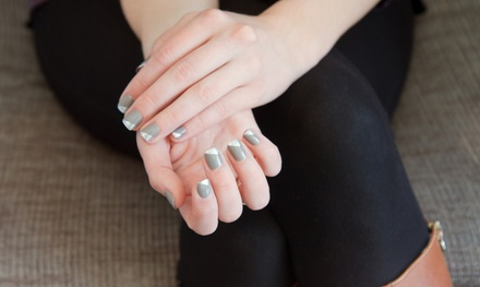 One or Three Shellac or Gel Manicures with Nail Design at Star Hair and Nails (Up to 57% Off)