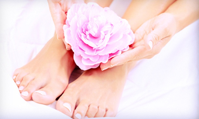 Shepherd Day Spa - Neartown/ Montrose: Regular Mani-Pedi or Shellac Manicure with Regular or Deluxe Pedicure at Shepherd Day Spa (Up to Half Off)