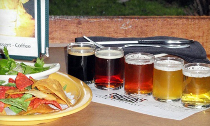 Faultline Brewing - Sunnyvale: $13 for Two Flights of Five Beers and One Appetizer at Faultline Brewing Company (Up to $26.50 Value)