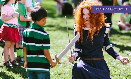 $10 for Celtic Faire Admission for Two at Fairplex on March 7th or 8th, 2015 ($20 Value)