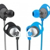JLab EPIC Earbuds with Custom Fit Cush Fins and Universal Mic