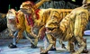"""Walking with Dinosaurs - Sleep Train Arena: """"Walking with Dinosaurs"""" at Sleep Train Arena on January 1, 2, or 3 at 7 p.m. (Up to 31% Off)"""