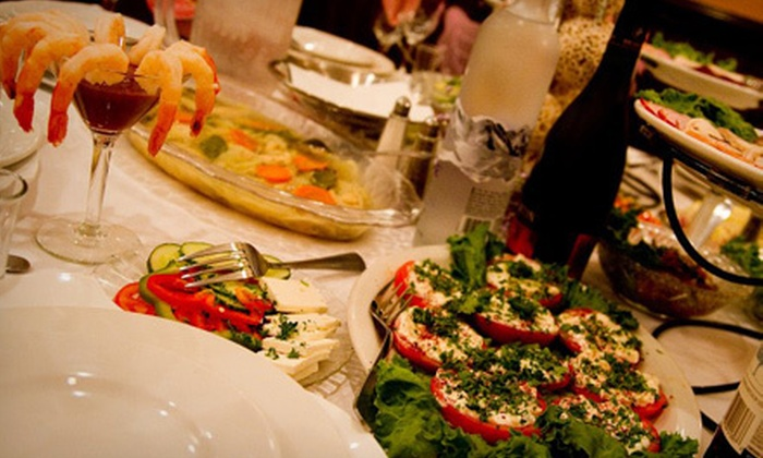 The Fiddler - West Bloomfield: Five-Course Prixe Fixe Russian Dinner for Two or Four at The Fiddler (Up to 53% Off)