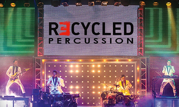 Recycled Percussion - The Linq Theater: Recycled Percussion Concert for One Child, One Adult, or Four of Any Age at the Quad Resort & Casino (Up to 76% Off)