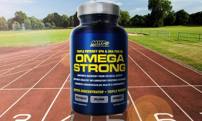 Omega Strong Triple Potency Fish Oil: $24.99 for 2 60-Capsule Bottles of Omega Strong Triple Potency Fish Oil ($39.98 Value). Free Shipping.