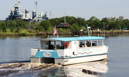 Sunset Cruise, Blackwater Adventure, or Autumn Escape Tour for 2 or 4 from Wilmington Water Tours (Up to 55% Off)