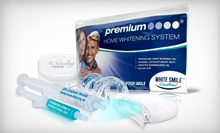 Home Teeth-Whitening Kit from White Smile Central (Up to 79% Off). Two Options Available.
