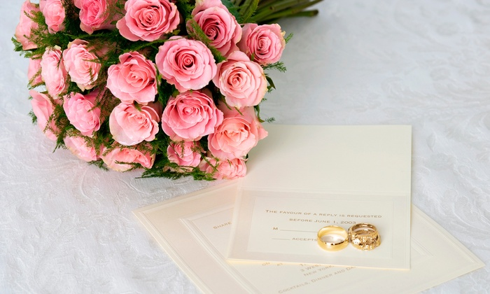 Dream Makers - Rockville Centre: Invitations and Calligraphy Services at Dream Makers (50% Off). Two Options Available.