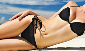 Great Tans: One or Three Mystic Spray Tans for Five Tanning Sessions in Level I Bed at Great Tans (Up to 44% Off)