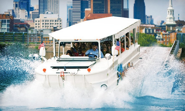 Ride The Ducks - Center City East: $27 for an Amphibious City Tour for Two from Ride The Ducks (Up to $54 Value)
