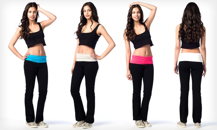 Women's Yoga Pants: $15.99 for Women's Yoga Pants ($59 List Price). Multiple Colors Available. Free Shipping and Returns.