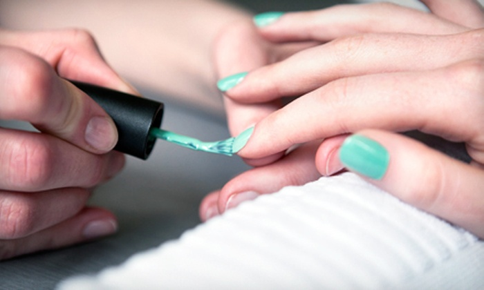 Wisteria Salon - San Anselmo: One or Two Shellac Manicures at Wisteria Salon (Up to 52% Off)