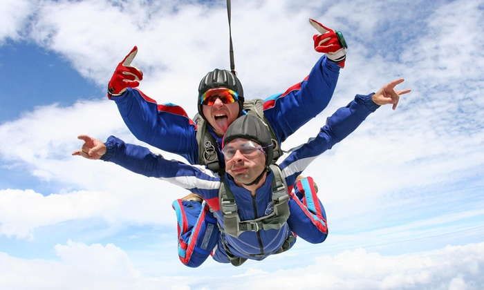 Skydive Tuskegee - Tuskegee: Tandem Skydiving with DVD and Photos for One or Two from Skydive Tuskegee (Up to 54% Off)