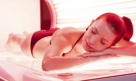 Two, Four, or Six Red-Light Therapy Sessions at Planet Beach Automated Spa (Up to 73% Off)