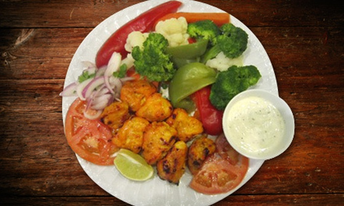 Bamian Restaurant - Bailey's Crossroads: $20 for an Afghan Dinner for Two at Bamian Restaurant (Up to $41.10 Value)