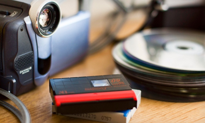 Ty Reynolds Video Services - Inglewood: 1, 5, or 10 Video-to-DVD Transfers at Ty Reynolds Video Services (Up to 63% Off)