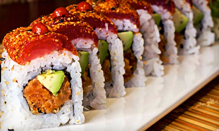 5 N 2 Tokyo - Center City East: Sushi Dinner for Two or Four Sunday–Thursday or Friday or Saturday at 5 n 2 Tokyo (Up to 59% Off)