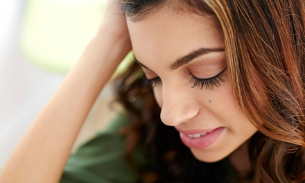 Full Set of Eyelash Extensions with Optional Fill at Allure Lash Bar & Photography (Up to 73% Off)