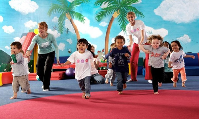 My Gym Children's Fitness Center - East Oak Hill: One Month of Classes and Playtime for One or Two Children at My Gym Children's Fitness Center (Up to 64% Off)