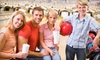 Pines Plaza Lanes - Bellevue: Classic or Galactic Bowling with Shoe Rental for Two or Four at Pines Plaza Lanes (Up to 62% Off)