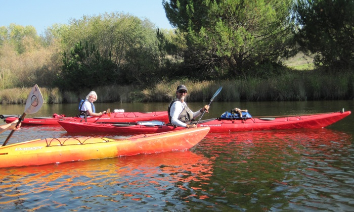 Current Adventures Kayak School & Trips - Lake Natoma: Half-Day Kayak Trip for One, Two, or Four from Current Adventures Kayak School & Trips (Up to 41% Off)
