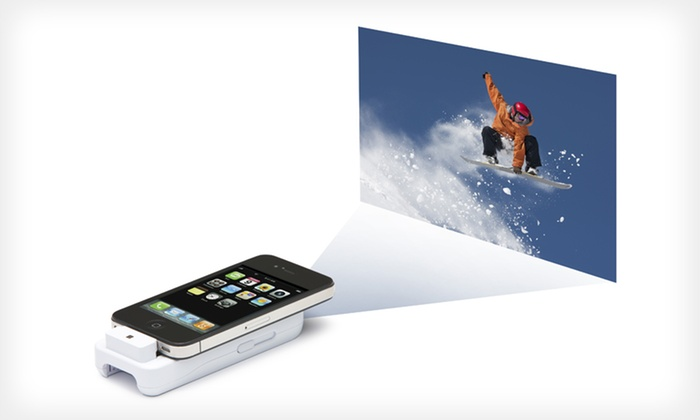 General Imaging ipico Handheld Projector for iPhone and iPod touch: $79.99 for a General Imaging ipico Handheld Projector for iPhone ($129.99 List Price). Free Shipping and Returns.