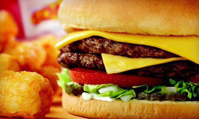 Sonic Drive-In - Multiple Locations: $5 for $10 Worth of American Food and Treats at Sonic Drive-In