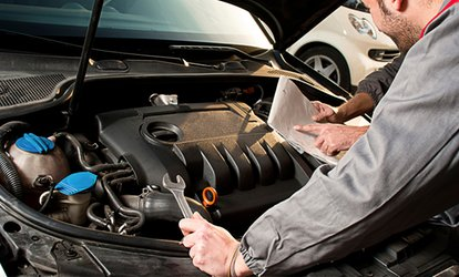 image for Vehicle Diagnostics Test, Wheel Alignment Check, or Both at We Fix 'N E' Car