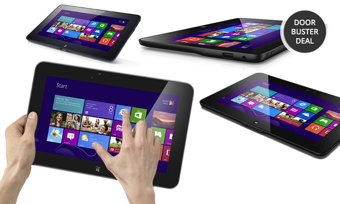 """Dell Latitude 10 64GB 10.1"""" Windows 8 Tablets: Dell Latitude 1064GB SSD 10.1""""Tablet with Windows 8(Manufacturer Refurbished) from $289.99–$299.99.Free Returns."""
