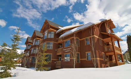 2- or 3-Night Stay for Four with $50 Spa Credit and Optional Ski Package at Timberline Lodges in Fernie, BC