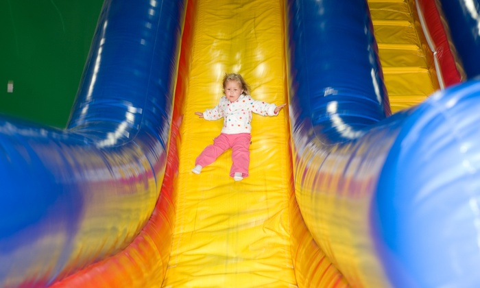 Bloom Bounce - Bloomsburg: Open Bounce Passes or Bounce Party Package for Up to 10 Kids at Bloom Bounce (Up to 53% Off)