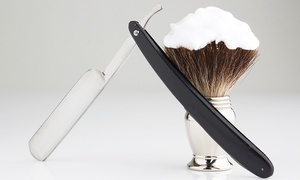 Master Barbers: Cut, Finish and Hot Towel Shave for £10 at Master Barbers (79% Off)