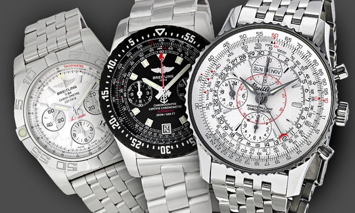 Breitling Men's Watches: Breitling Men's Watches (Up to 33% Off). 5 Styles Available. Free Shipping and Returns.