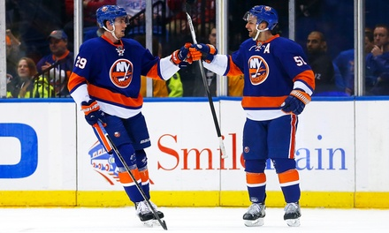 New York Islanders Game at Nassau Coliseum on March 13, 24, or 26 (Up to 57% Off). Three Seating Options.