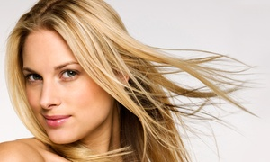 Jolie Toi Salon & Spa: Haircut with Deep-Conditioning Treatment or Partial Highlights at Jolie Toi Salon & Spa (Up to 64% Off)
