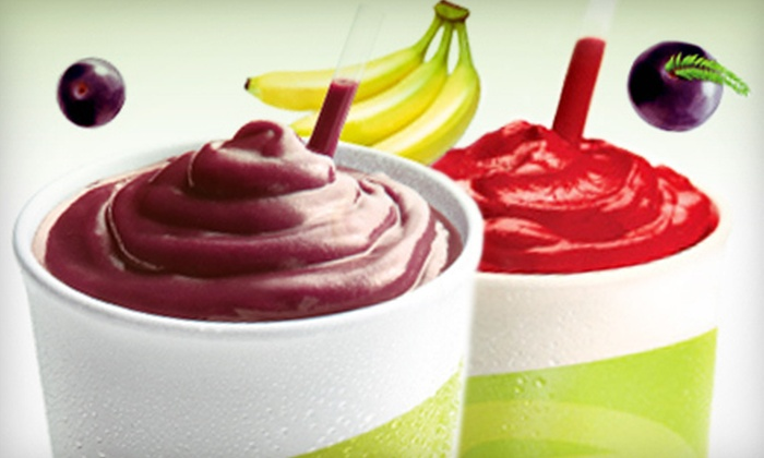 Juice It Up! - ABC: 16- or 24-Ounce Classic Smoothies at Juice It Up! (Half Off). Two Options Available.