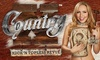 X-Country – Up to 25% Off Burlesque