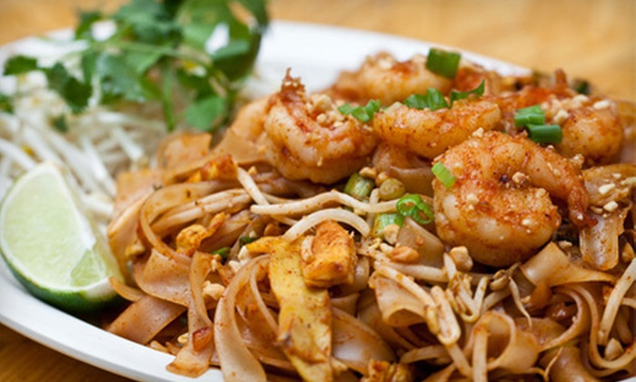 Wok Town - West Avenue: $10 for $20 Worth of Chinese Food and Drinks for a Party of Two or More at Wok Town
