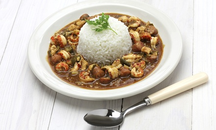 Cajun Cuisine at Parrain's Louisiana Kitchen (36% Off). Two Options Available.