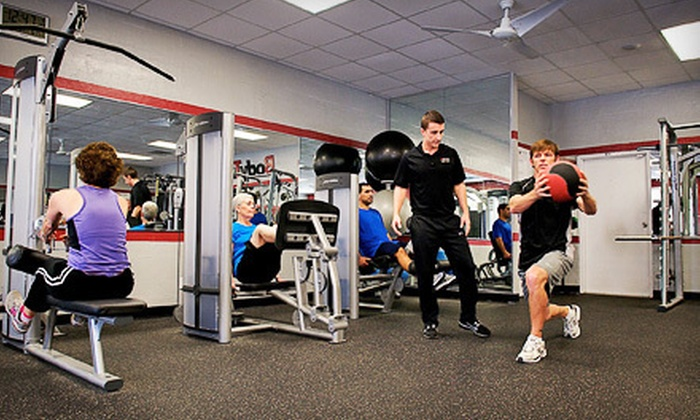 BodyTrac Health & Fitness - Montgomery: One- or Three-Month Gym Membership to BodyTrac Health & Fitness (Up to 79% Off)