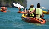 3h de location decanoë-kayak pour 2 personnes à 14 € chez Au Gré du Vent