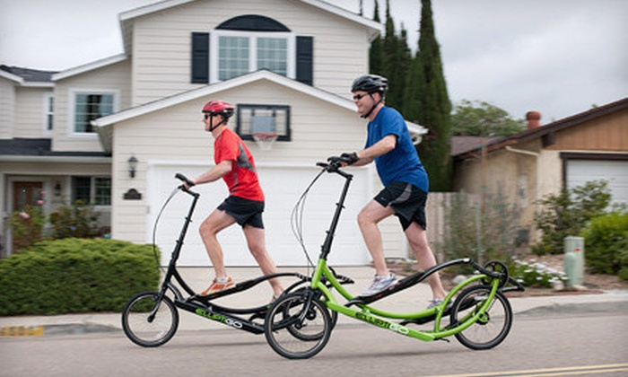 Push Pedal Pull - Brentwood: One-Day ElliptiGo Rental for One or Two from Push Pedal Pull (Up to 73% Off)