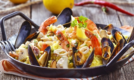 Diner for Two or More at Seven Seas Tavern (Up to 50% Off). Four Options Available.