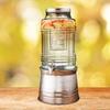 Circle Glass 2.4Gal. Beverage Dispenser