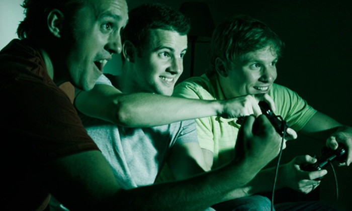 CrashNPlay - Randolph: $99 for an Overnight In-Home Video-Game Party from CrashNPlay ($349.99 Value)