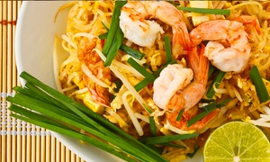O'Ginger Bistro: Thai and Chinese Lunch or Dinner at O'Ginger Bistro (Up to 38% Off)