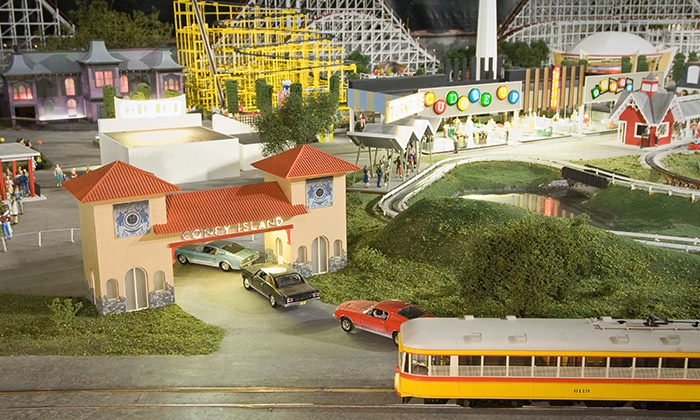 EnterTRAINment Junction - EnterTRAINment, Inc.: Model-Train Outing for Two or Four at EnterTRAINment Junction (Up to 37% Off)