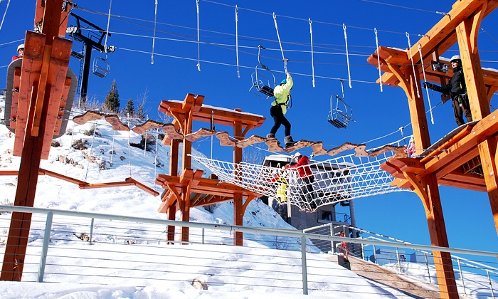 Utah Olympic Park - Snyderville: Discovery Adventure Course for Two or Four atUtah Olympic Park(Up to50% Off)
