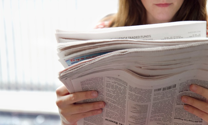 """The News & Observer: 26 Weeks of Sunday or 7-Day Delivery With Unlimited Digital Access to """"The News & Observer"""" (Up to 86% Off)"""